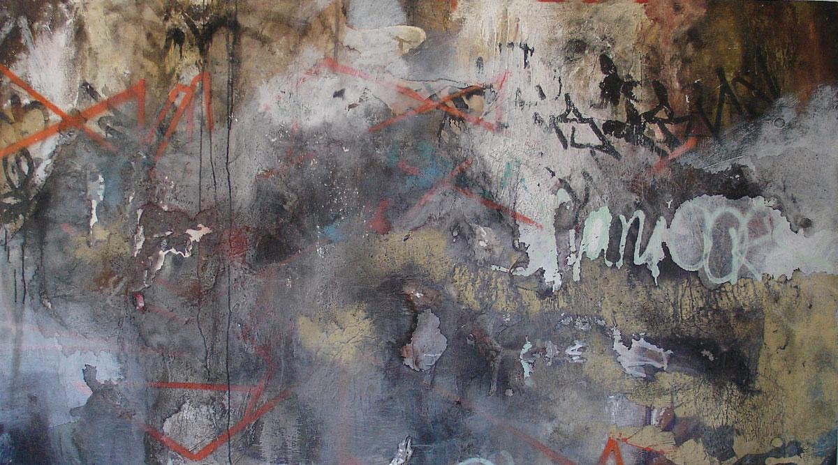 2005 4 x 7 acrylic  oil paint  Oil Or Acrylic Paint On Wood